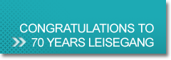 Gratulations to 70 years Leisegang